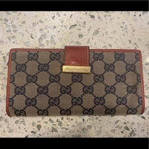 💯 AUTH GUCCI WALLET♥️